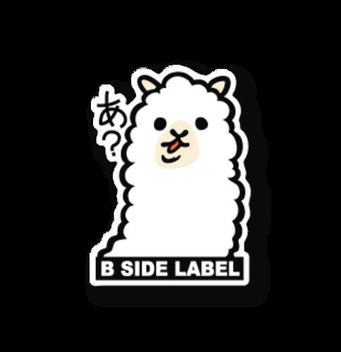 B-Side Label 알파카 마슈 스티커